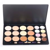 Pure Vie® Professional 20 Colours Cream Concealer Camouflage Makeup Palette Contouring Kit
