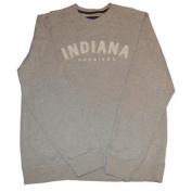 Indiana Hoosiers Gear for Sports Men's Grey Beige Long Sleeve Sweatshirt
