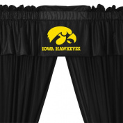 NCAA Iowa Hawkeyes 5pc Long Curtain-Drapes Valance Set