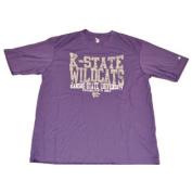 Kansas State Wildcats Performance Faded Logo Purple T-Shirt