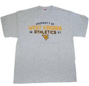 West Virginia Mountaineers The Cotton Exchange Grey Athletics T-Shirt