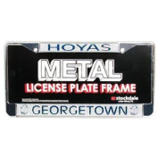 Georgetown Hoyas Metal Licence Plate Frame w/Domed Insert