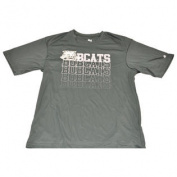 Ohio Bobcats Performance Green Polyester T-Shirt