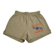 Boise State Broncos Youth Screen Printed Athletic Grey Shorts