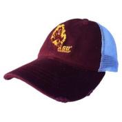 Arizona State Sun Devils Retro Brand Maroon Worn Mesh Vintage Adj Snap Hat Cap