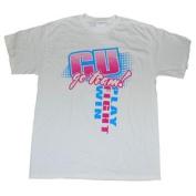 Colorado Buffaloes Cotton Exchange White Pink Go Team Logo Cotton T-Shirt