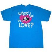 Colorado Buffaloes Cotton Exchange Teal 'Whats Not to Love' Cotton T-Shirt