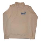 UCLA Bruins Gear for Sports Womens 1/4 Zip White Fleece Pullover