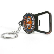 Auburn Tigers Metal Key Chain And Bottle Opener W/domed Insert