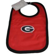 Georgia Bulldogs Infant Baby Newborn Red Black Knit Bib