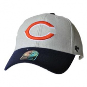 Chicago Bears 47 Brand Grey Navy Structured Adjustable Strap Hat Cap