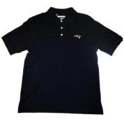New England Patriots Cutter & Buck Navy Knit Polo Shirt