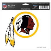 Washington Redskins Official NFL 10cm x 15cm Car Window Cling Decal by Wincraft