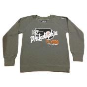 Philadelphia Flyers SAAG Women's NHL Grey Long Sleeve Pullover Sweatshirt