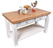 2-Drawer Table in Rectangular Shaped