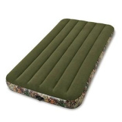 Intex Realtree Prestige Downy Airbed with Separate (6 C-cell) Battery Pump - Twin