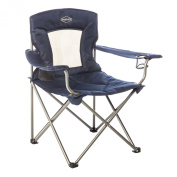 Padded Chair with Mesh Back