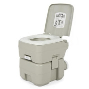 Portable Toilet 18.9l Dual Spray Jets Travel Outdoor Camping Hiking Toilet
