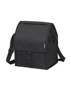 PackIt Freezable Deluxe Lunch Bag, Black