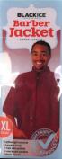 Black Ice Barber Jacket Burgundy XL, Waterproof, stain resistant, hair cut, barber, salon, stylist, professional, lightweight, chemical resistant, comfortable material, durable material, hair stylist