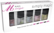 Nail Magic Simply Magic Nail Kit, 5 Count