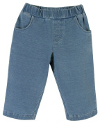 Stephan Baby Blue Jeans-Style Nappy Cover, 3-6 Months
