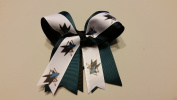San Jose Hockey Hair Bow