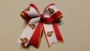 Ottawa Hockey Hair Bow