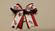 Arizona Hockey Hair Bow