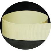 1.6cm Cream / Natural Solid Grosgrain Ribbon - 100 Yards - USA Made -