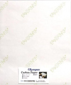 Sashiko Fabric Japanese Transfer Tracing Paper - OLYMPUS - WHITE - 28cm X 43cm - 2 Sheets