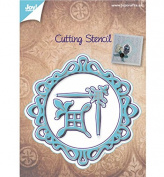Joy Craft Cutting and Embossing Die-Circle-border-Corner