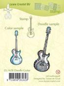 Joy Craft Doodle Clear Stamp Guitar