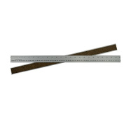 Alumicolor Ludwig Precision by 60cm Cork Backed Aluminium Straight Edge