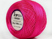 Candy Pink Mimosa Size 10 Microfiber Crochet Thread
