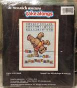 Monarch Horizons Take Alongs Topsy-Turvy Bear - 13cm x 18cm - Cross Stitch
