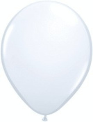 PIONEER BALLOON COMPANY Standard Opaque Latex Balloons, 23cm , White