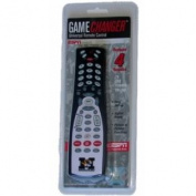 Missouri Tigers ESPN Game Changer Universal TV Black Remote Control