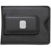 NCAA Logo Black Leather Money Clip / Credit Card / ID Holder - NCAA Team