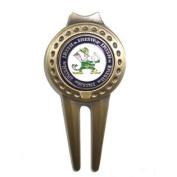 Notre Dame Fighting Irish Golf Divot Tool with Ball Marker