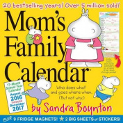 Mom's Family Wall Calendar 2017
