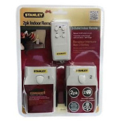 Stanley Rt105 2-pack Indoor Remote with 2 Receivers