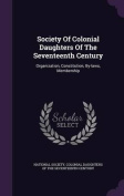 Society of Colonial Daughters of the Seventeenth Century