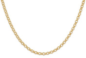 """14Kt Gold-Filled Rolo Chain Necklace 2.3 mm 18"""""""