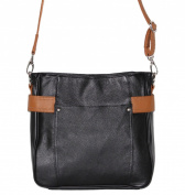 Concealed Carry Purse - Leather Crossbody Messenger by Roma Leathers