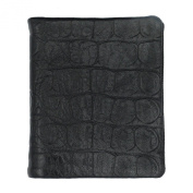 UER Women's Fashion High Quality Pebbled Cow Leather Leather Wallet Purse