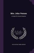 Mrs. John Vernon