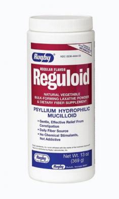 REGULOID VEG LAX PWDR PSYLLIUM-49% Tan 369GM UPC 305364444546