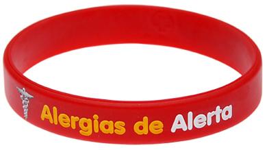 ALLERGY - Medic Bracelet (spanish) - Large