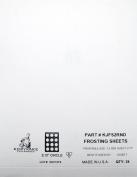 Kopykake KJFS2RND 5.1cm Circle Frosting Sheets